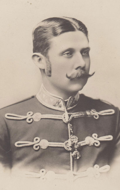 Franz Ferdinand as a young man.