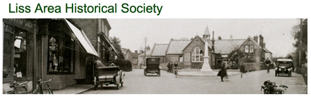 A detail from the Liss Historical Society website